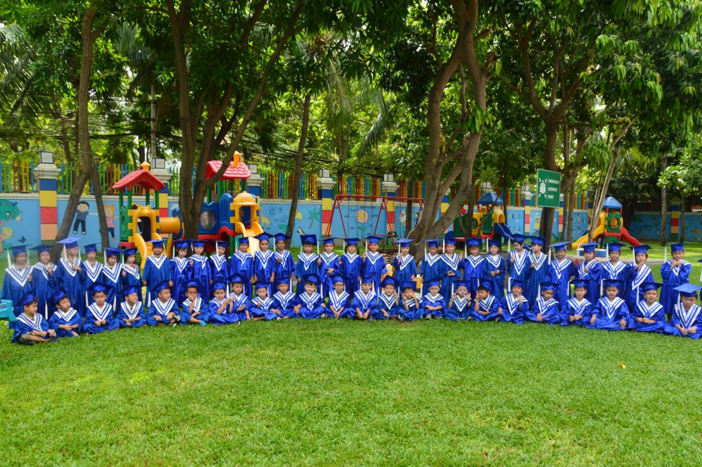 Kindergarten Campus pre-graduation activities