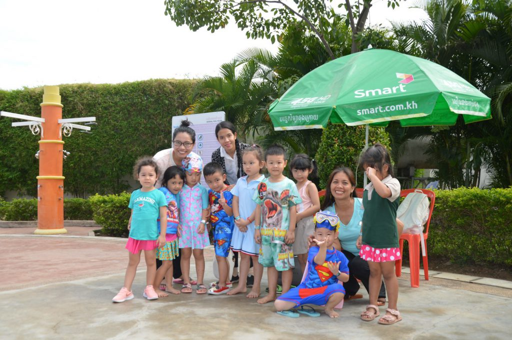 Kindergarten Students Had a Trip to Water Park